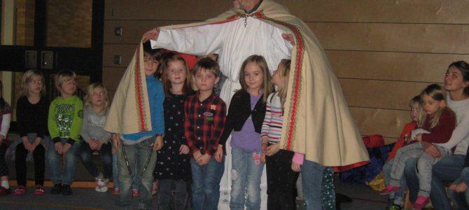 Der Nikolaus war zu Besuch in der Kindertagesstätte