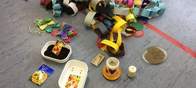 Aschermittwochsfeier mit dem Schülerhort und den Kindergartenkindern